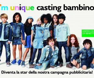 Benetton Casting I'm Unique