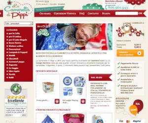 Cameretta di Pippi, design nordico in click