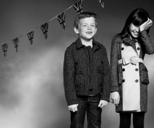 Burberry Childrenswear Autumn/Winter 2012: Look 1