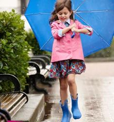 Crocs, stivali pioggia bambina