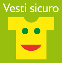 Il bambino Benetton veste sicuro